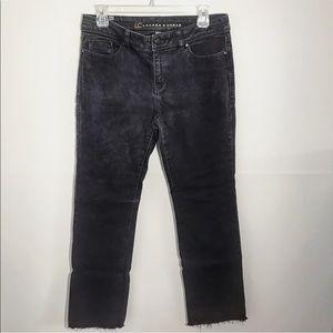 LC Lauren Conrad Black boot cut jeans size 10